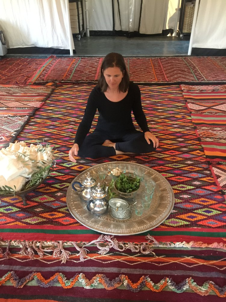 Morocco tea | EAT.PRAY.MOVE Yoga Retreats | Ritual+Renewal