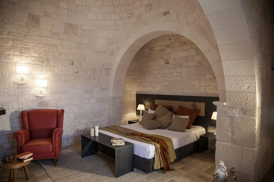 Stone walled rooms Ottolire | EAT.PRAY.MOVE Yoga Retreats | Puglia, Italy