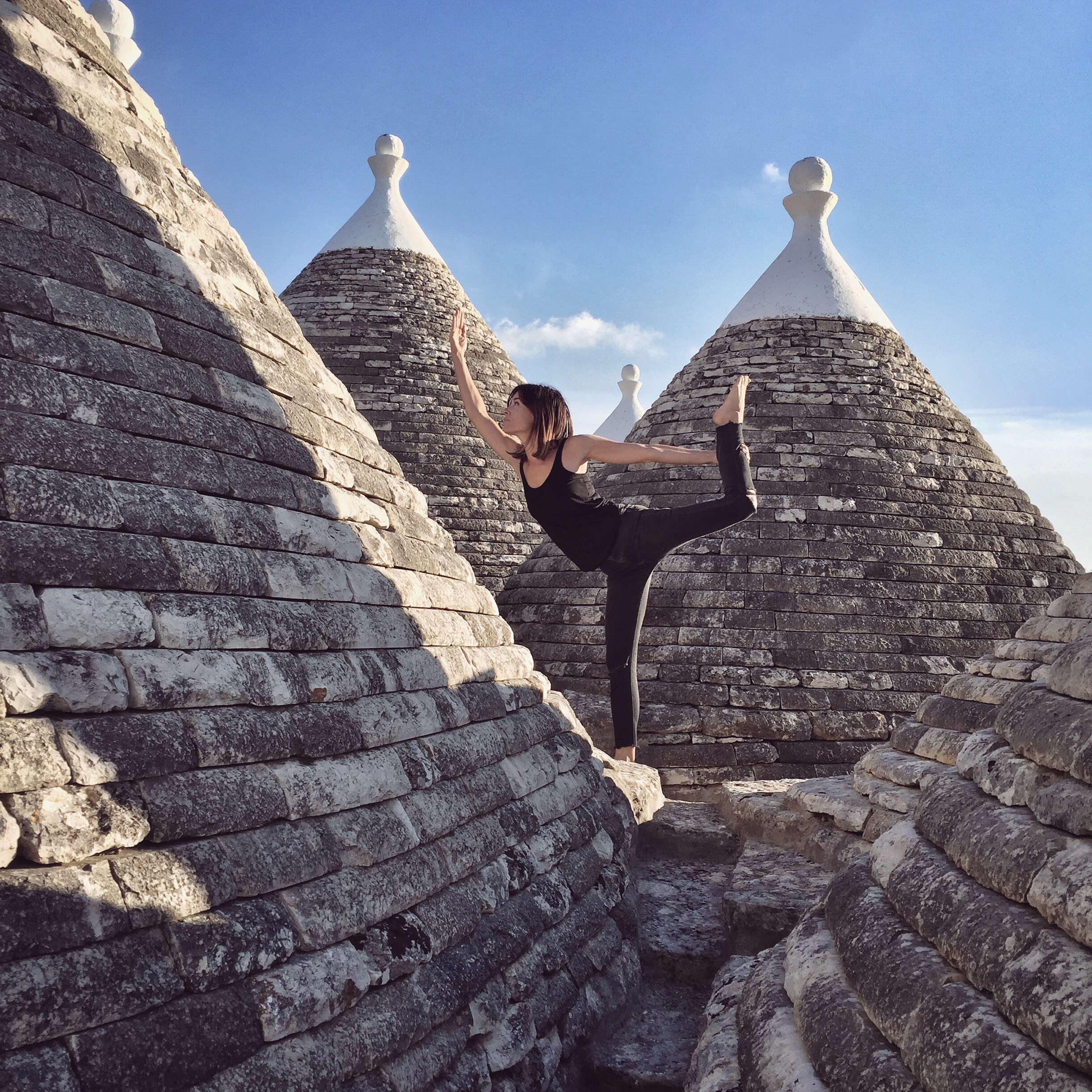 Standing among the trulls | EAT.PRAY.MOVE Yoga Retreats | Puglia, Italy