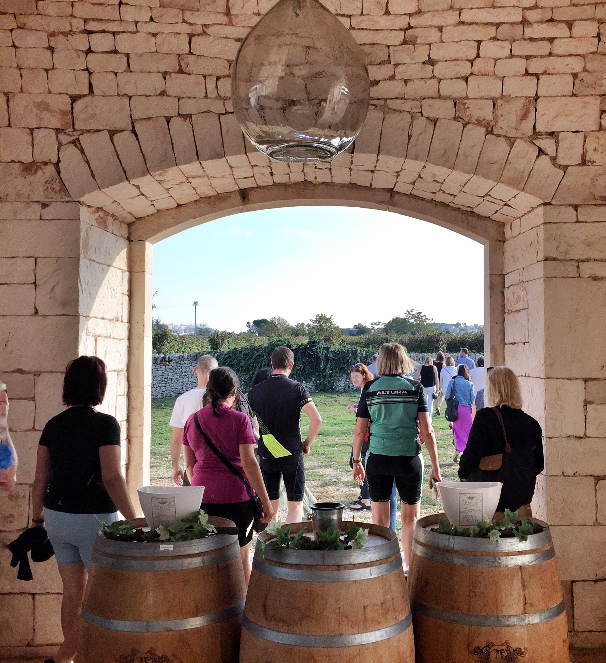Winery tour | EAT.PRAY.MOVE Yoga Retreats | Puglia, Italy