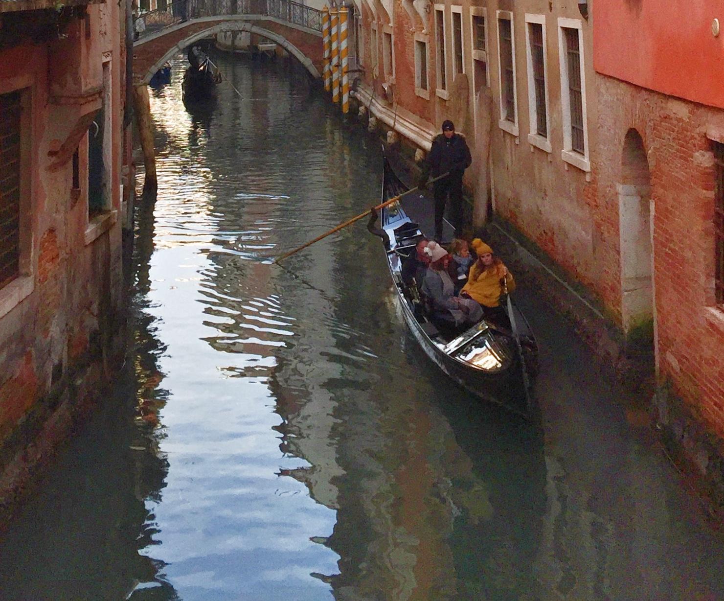 Gondolier | EAT.PRAY.MOVE Yoga | Venice, Italy