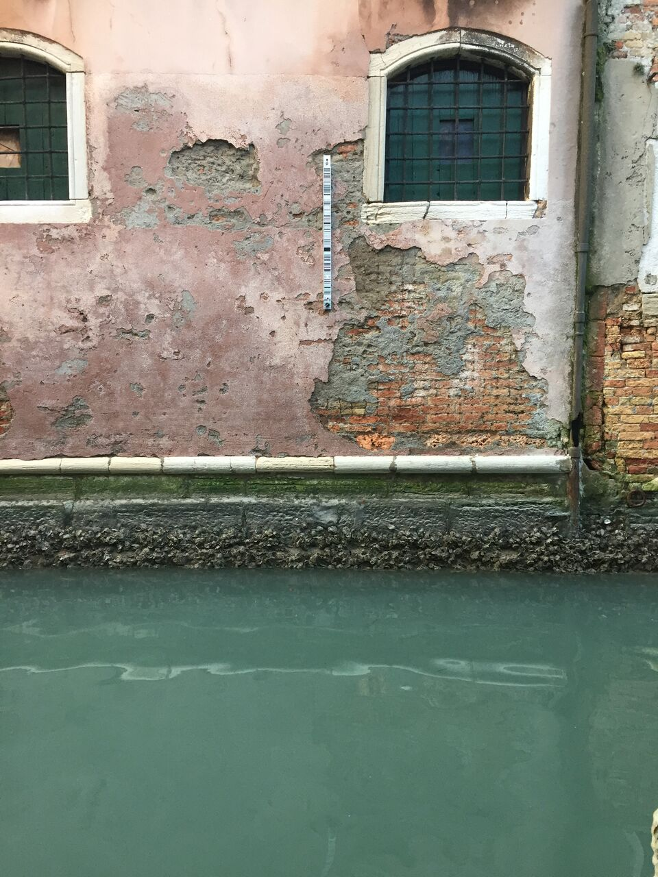 Venetian blue waters