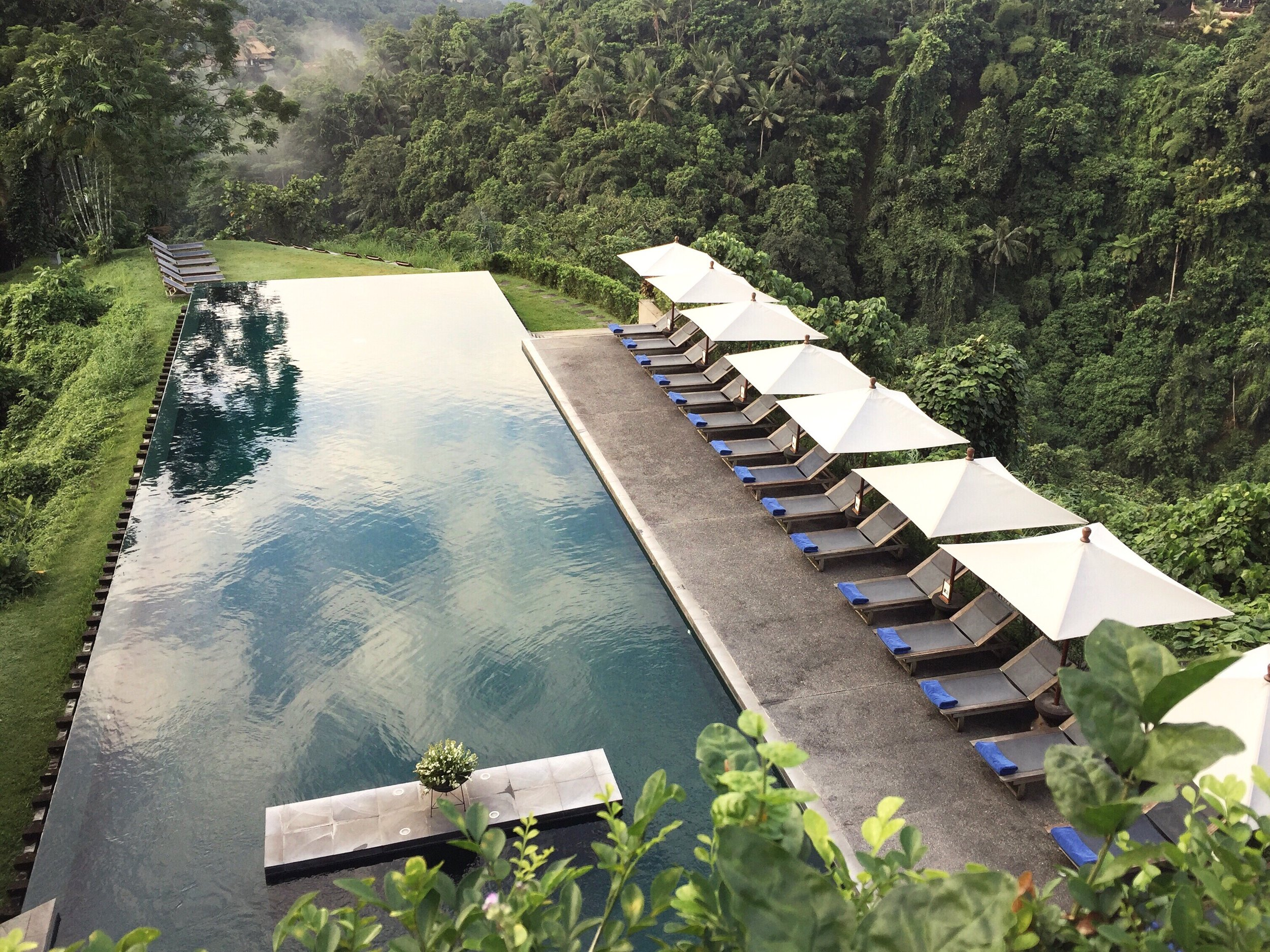 The pool at Alila | EAT.PRAY.MOVE Yoga | Bali, Indonesia