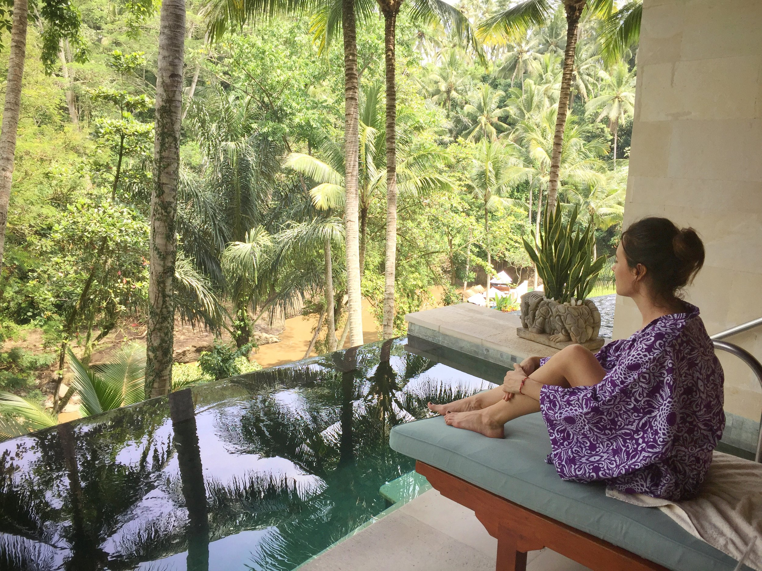 Spa time in Bali | EAT.PRAY.MOVE Yoga | Bali, Indonesia