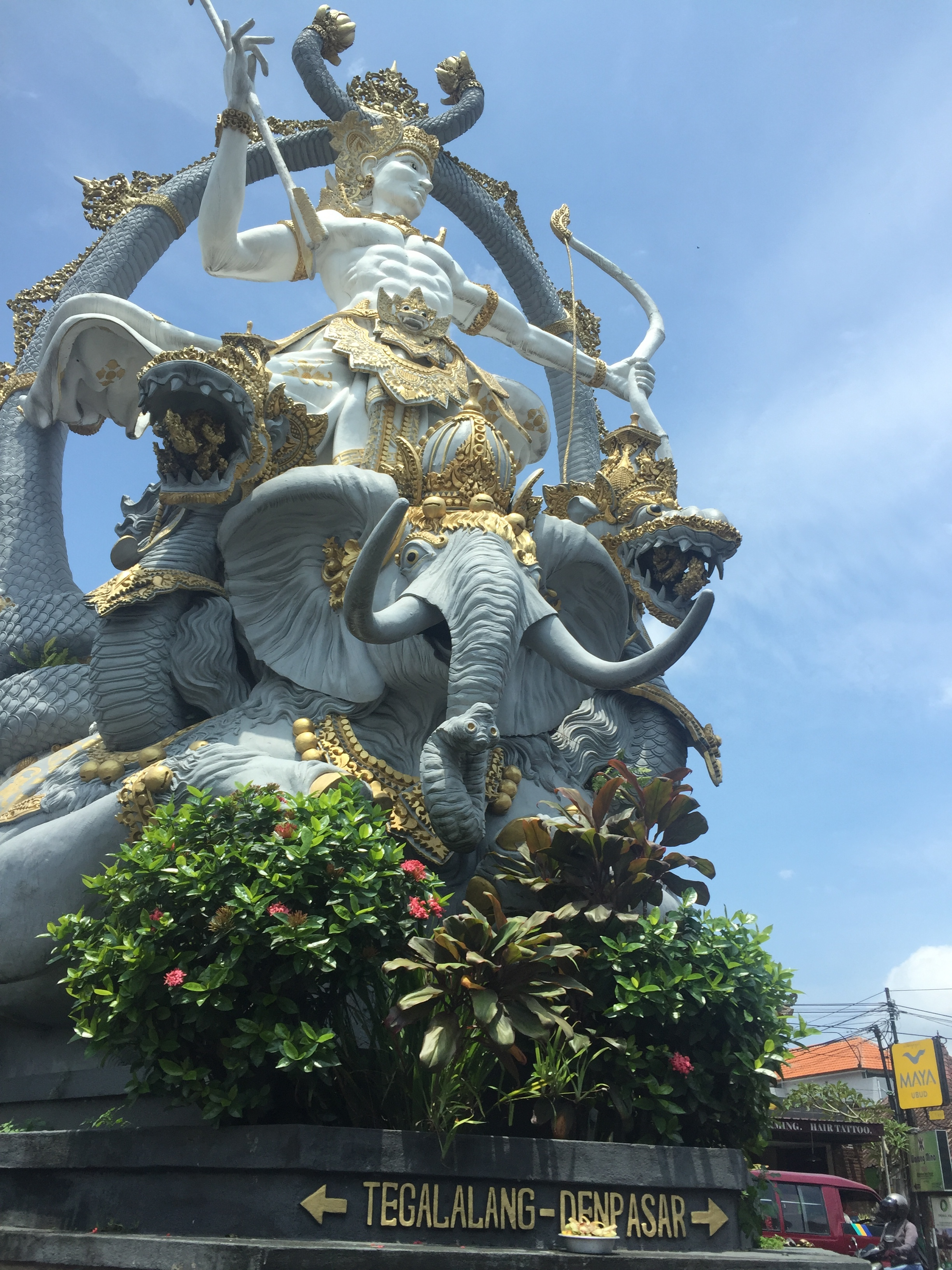 Balinese deity statue | EAT.PRAY.MOVE Yoga | Bali, Indonesia