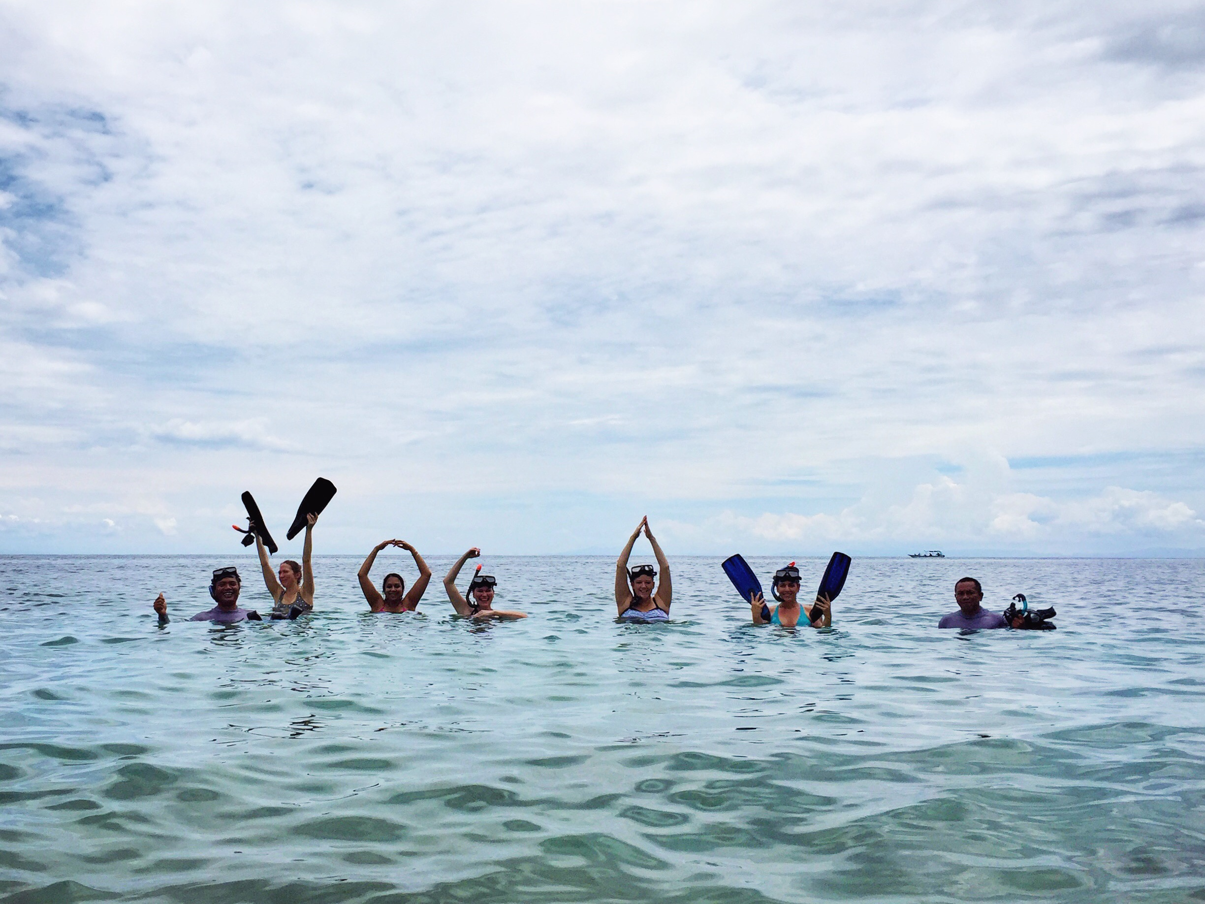 Yogis in Indonesian waters | EAT.PRAY.MOVE Yoga | Bali, Indonesia