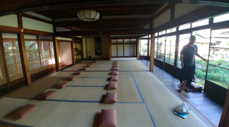 Meditation space  | EAT.PRAY.MOVE Yoga | Kyoto, Japan