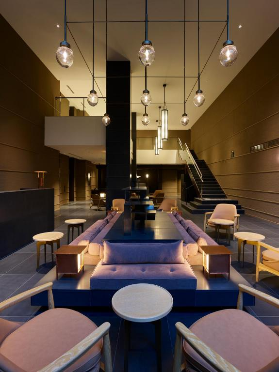 Refined hotel lobby at the Celestine  | EAT.PRAY.MOVE Yoga | Kyoto, Japan