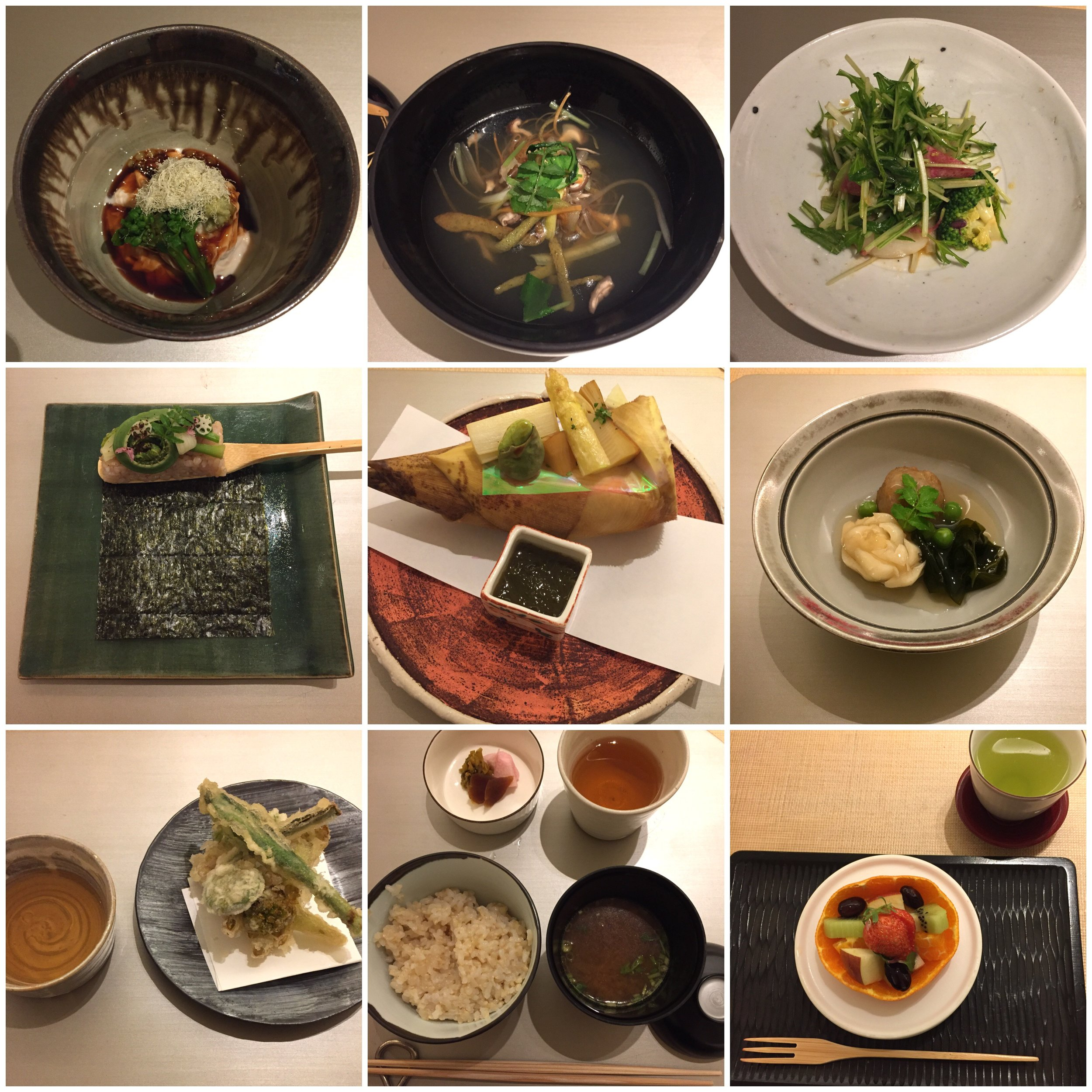 Numerous delicious meals  | EAT.PRAY.MOVE Yoga | Kyoto, Japan