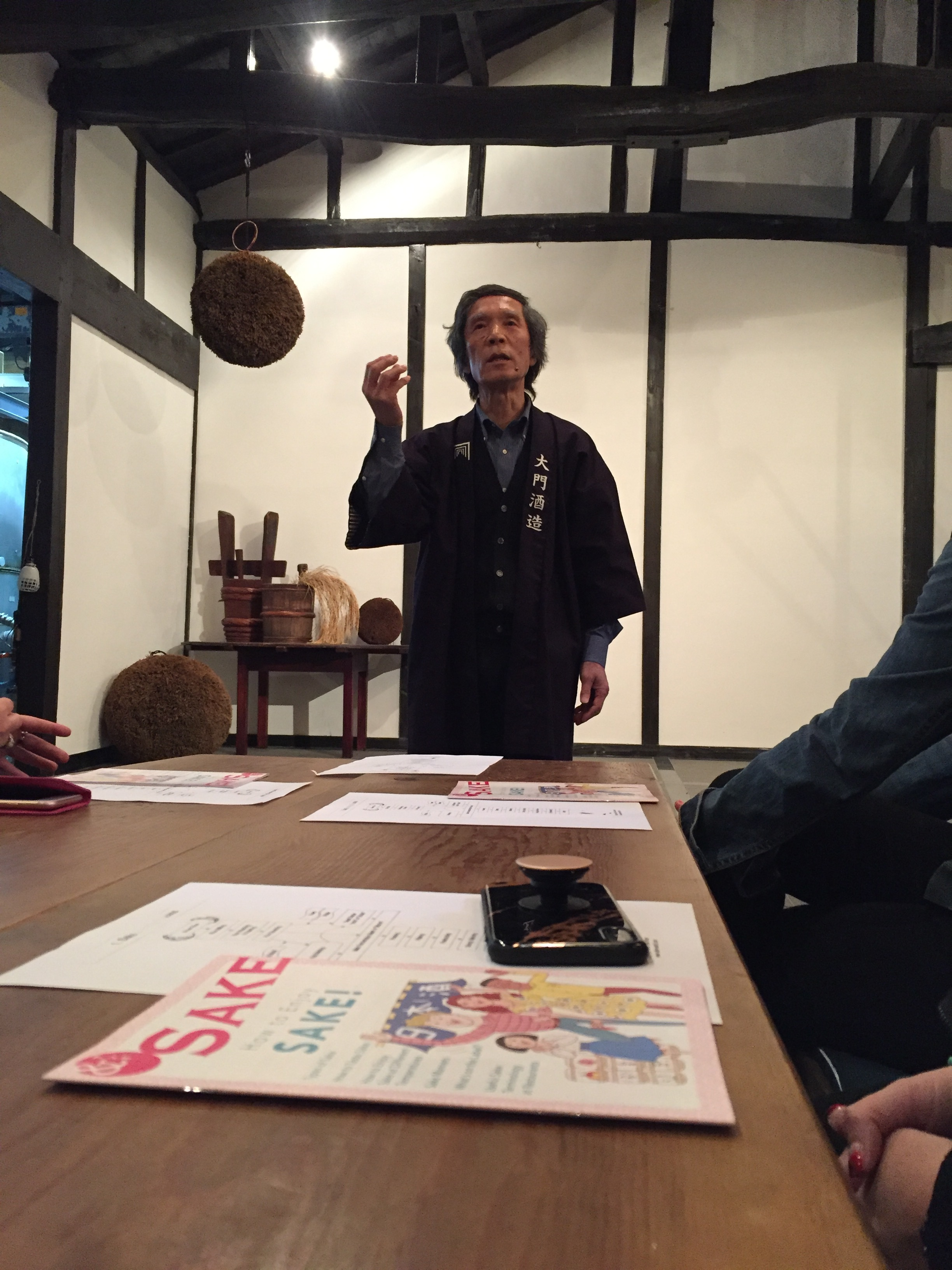 Sake tasting  | EAT.PRAY.MOVE Yoga | Kyoto, Japan