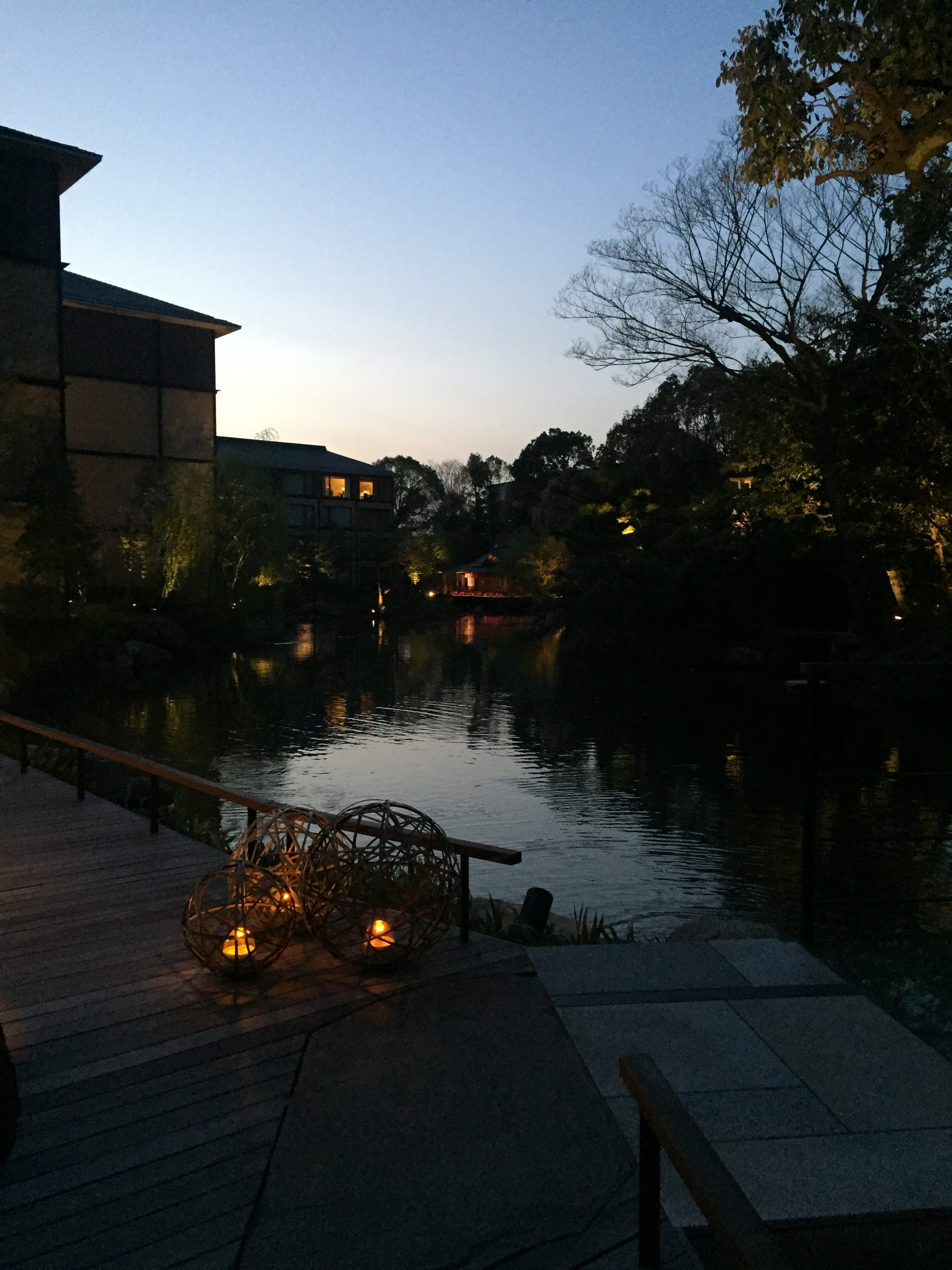 Sunset over the river  | EAT.PRAY.MOVE Yoga | Kyoto, Japan