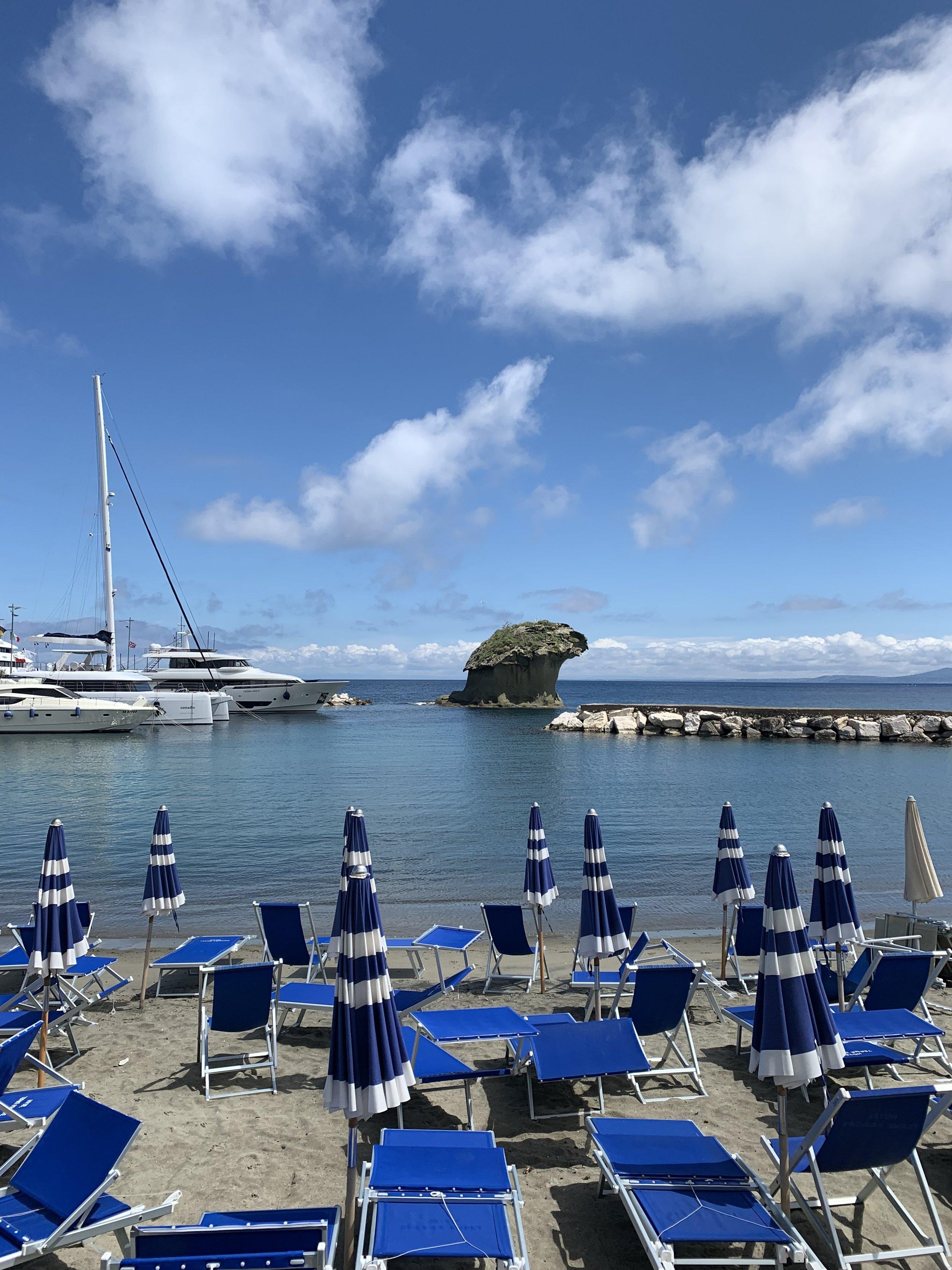 Lacco Ameno beach time | EAT.PRAY.MOVE Yoga Retreats | Ischia, Italy