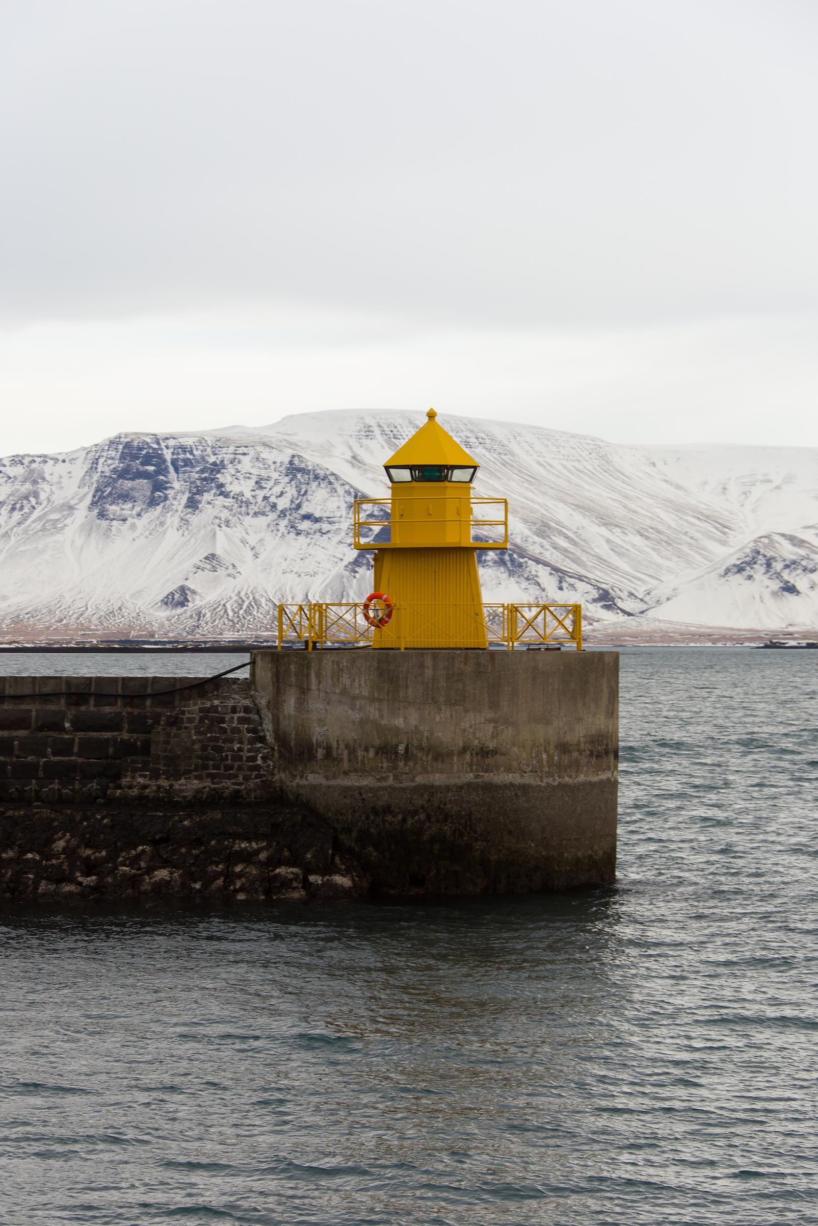 Reykjavík harbour, Iceland