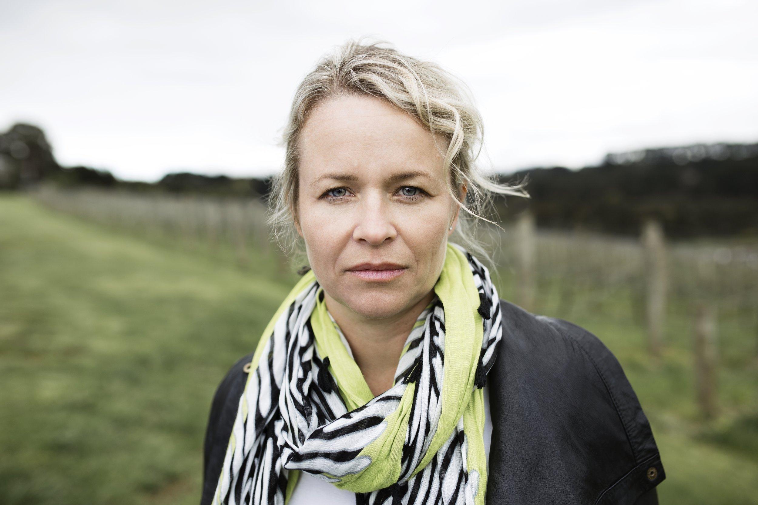 Corrina Wright: photo credit Wine Australia