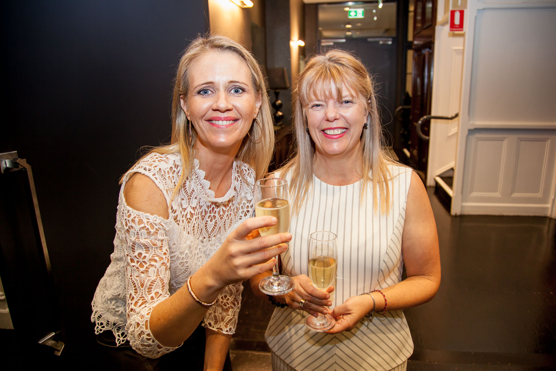 Jane Thomson with Melissa Brown. Melissa is co-owner & viticulturist for Gumtree Wines and she is a finalist this year for Viticulturist of the Year 2017