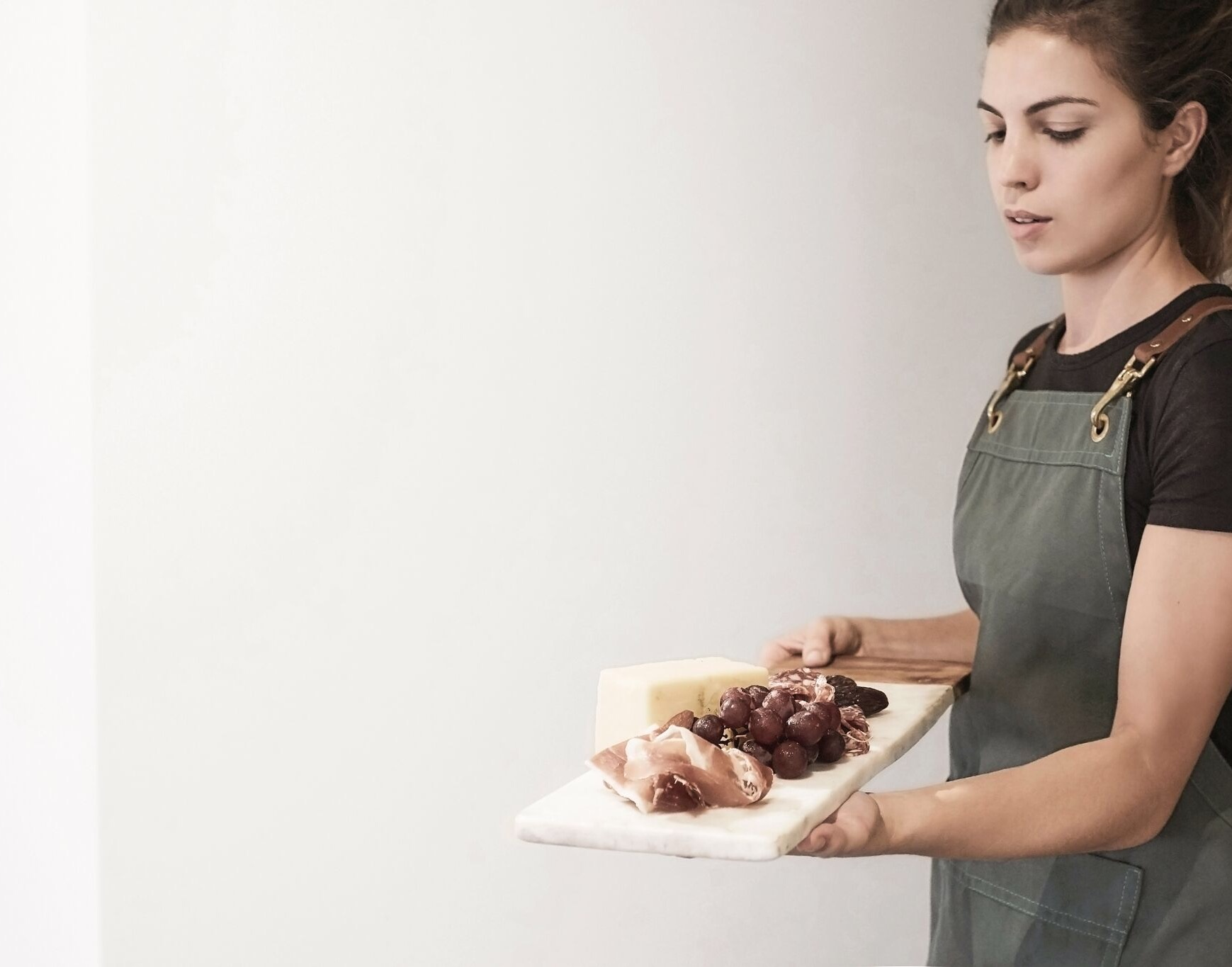 Food stylist. Stephanie De Luca. Photograph credit: Sam Thies