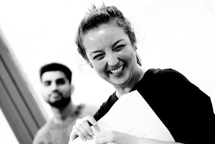 Rehearsals,The Australian Girl. Photographer Rebecca Rayne.