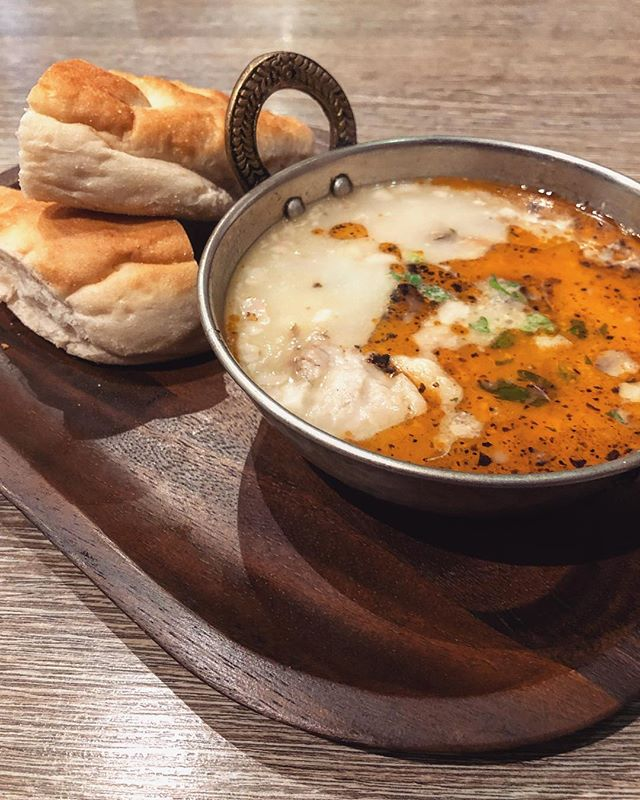 TODAYS SPECIAL SOUP: #KellePaça Servis'e hazirdir. 😍  The traditional Turkish lamb soup - Ready to be served 🍵 (limited portions)