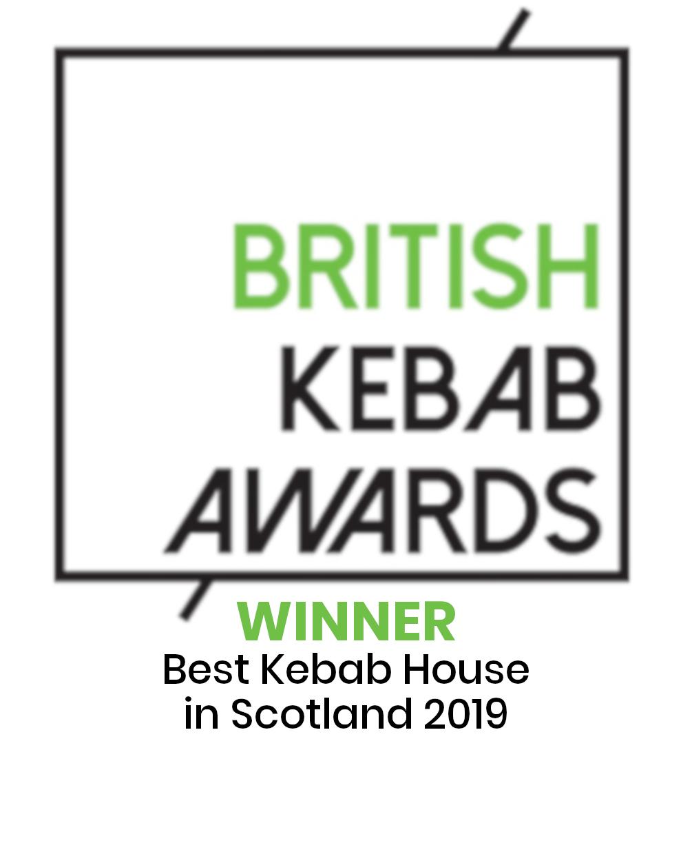 British Kebab Awards 2019 Winner -