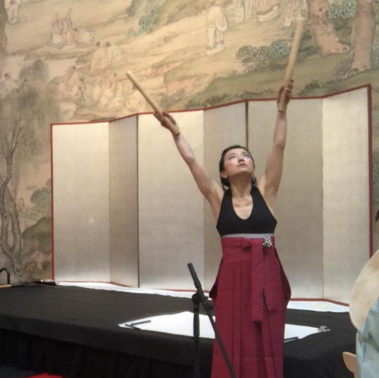 Yumi (Kotori) at Portland Art Museum in November 2018