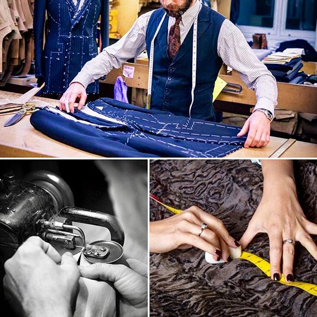 #bespoke May it be a bespoke men's suit or a bespoke fur coat, having something made just for you is an experience like no other. Come and visit us, we can discuss your new one of kind garment. #jonevonfurs #customfur #madeinnewyork