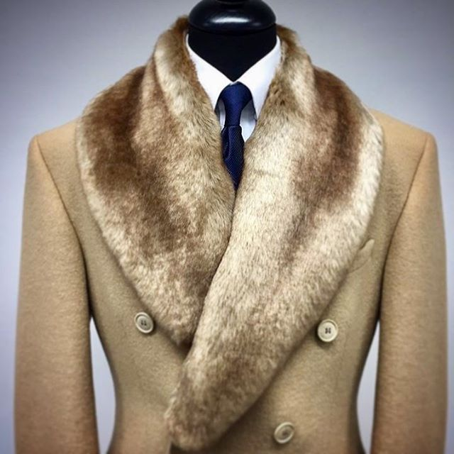 Classic Elegance 101: Sharp tailoring with an imposing touch of fur #timeless #glamour #elegance We do custom orders. Come visit us. #byappointment #madeinnewyork #jonevonfurs