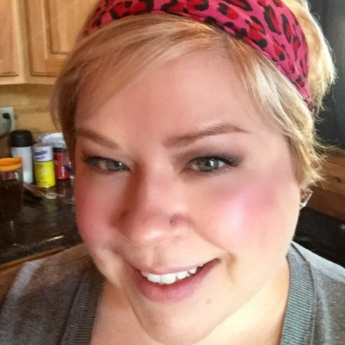 Test driving the L'Oreal True Match Cushion Foundation during my cabin getaway weekend...