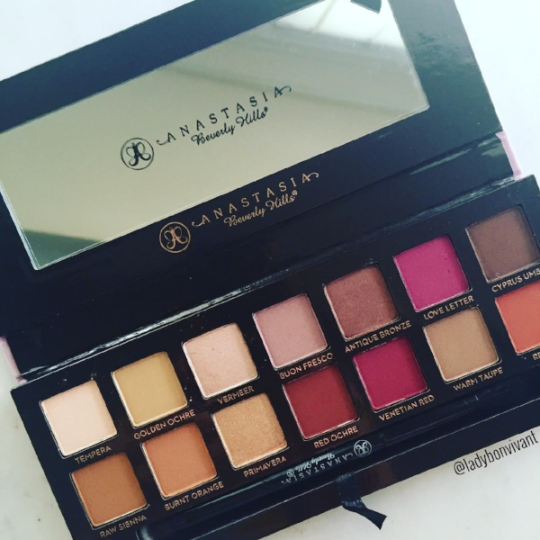 The  Anastasia Beverly Hills  Modern Renaissance Eyeshadow Palette - perfect for the transition to fall makeup