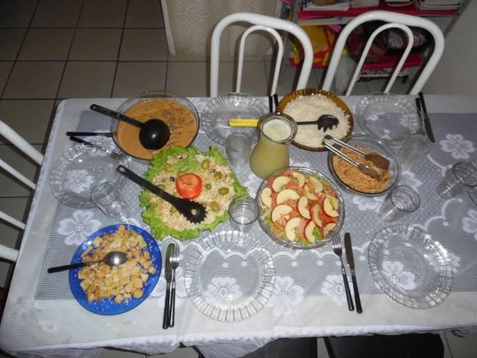 Mother's Day dinner. Muito delicioso!