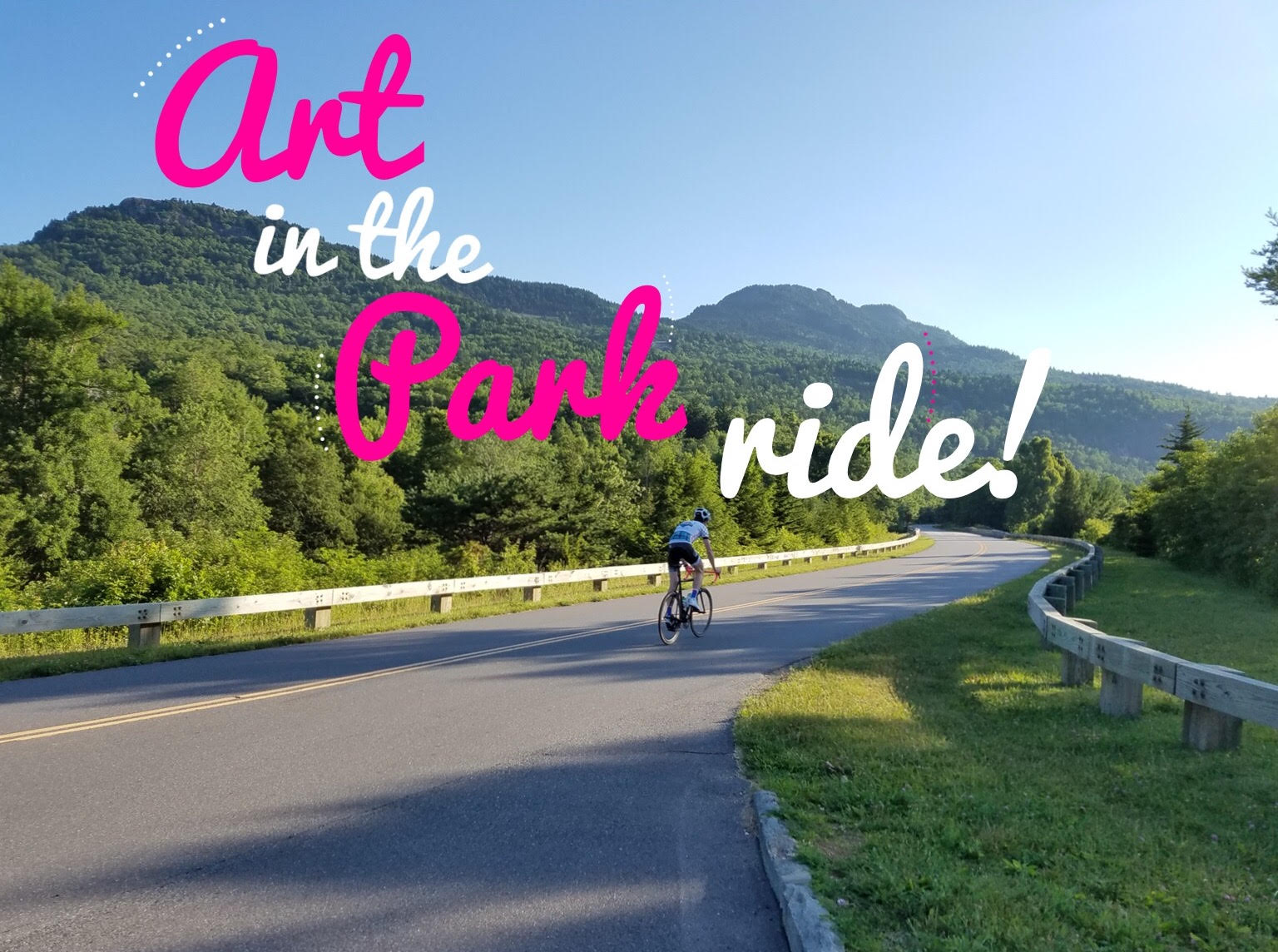 The first Art in the Park ride of the season! What better way to kick off our Art in the Park Ride Series than a classic 38 mile 221/Blue Ridge Parkway loop?!  We will roll from the shop (257 SUNSET DRIVE) at 10am on Sunday, May 21st!  Average pace will be 16-17 mph, but all paces are welcome as we will have multiple regroup points along the ride. We will return to the shop after the ride for refreshments.  Due to Beech Mountain Metric on Saturday, May 20th, the event will be Sunday, May 21st. Join us for Beech Mountain Metric as well, register, here:  http://beechmountainmetric.org/