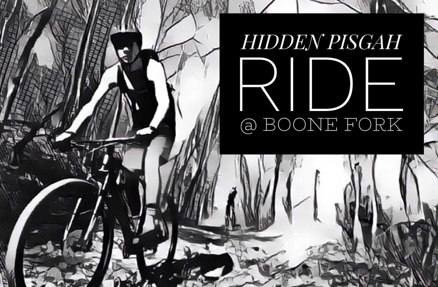 "Join us SATURDAY, JANUARY 26th at 10am for a mountain bike ride to rediscover the Boone Fork area of Pisgah -- less than 20 mins south of downtown Blowing Rock and 10 mins north of Lenoir off Roby Martin Road -- 2843-2783 Roby Martin Road, Lenoir, NC 28645. Park on the LEFT side of SPENCER BRANCH ROAD but do not block the gate!  This unique area on the eastern edge of Pisgah is a labyrinth of old single track and logging roads, making it ideal for mountain bike adventures. This area has a rich history of mountain biking, in 1994, two of its trails were even featured in ""Mountain Biking the Appalachians"" by Lori Finley, but in later years, it became overgrown and forgotten by most. Now, thanks to the hard work of the Northwest NC Mountain Bike Alliance these trails will once again grace the pages of Pisgah trail maps. Over the course of the next several years, a 25-mile multi-use trail system will be developed. For now, we can all enjoy the Boone Fork area in its old school state that is reminiscent of the early days of mountain biking.   For our ride, we have a 12-mile figure eight planned to highlight some of the most accessible trails in the area. Our ride will start at the Corner of Roby Martin and Spencer Branch Rd. FR 189. Our loop will consist of a 4 mile ascent up Spencer Branch Rd. — a gated double track road that takes you to the top of the mountain; then, turn onto Yellow Trail — a beautiful section of Ridgeline single track; then, straight onto Double H — tight twisty downhill single track that takes you back to Spencer Branch; then, climb 1.5 miles up Spencer Branch to Gem Trail a fast and flowing 3.4 mile piece of mostly downhill single track; then, we will finish with a short downhill cruise on Spencer branch back to the entrance gate.  Ride will start at 10am from the Forest Service gate on Spencer Branch. A carpool from Rhoddie Bicycle Outfitters will leave Blowing Rock at 9:15.  More info, here: https://www.facebook.com/events/317565392201042/"