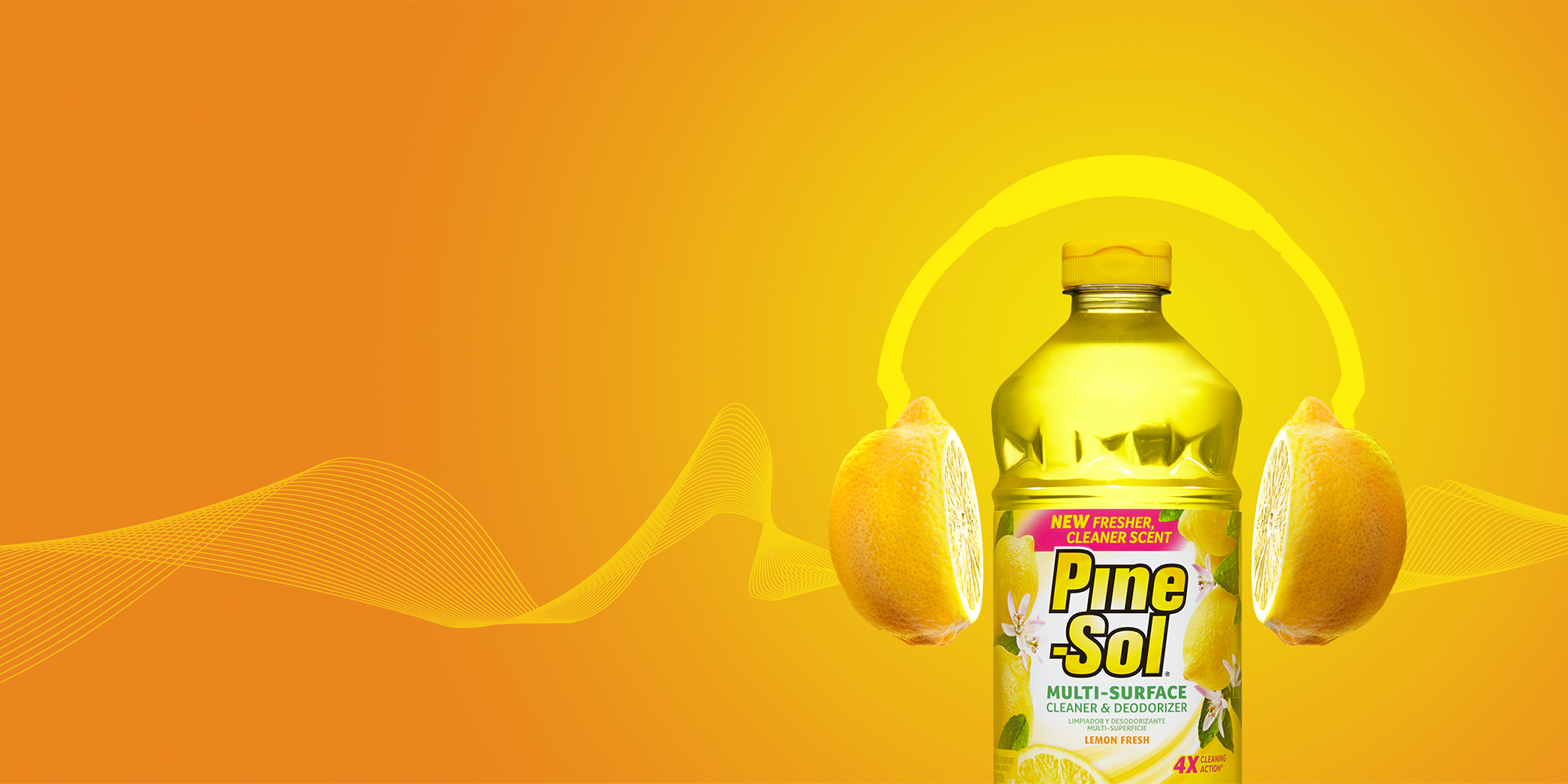 The #SoundOfSmell - Pine-Sol