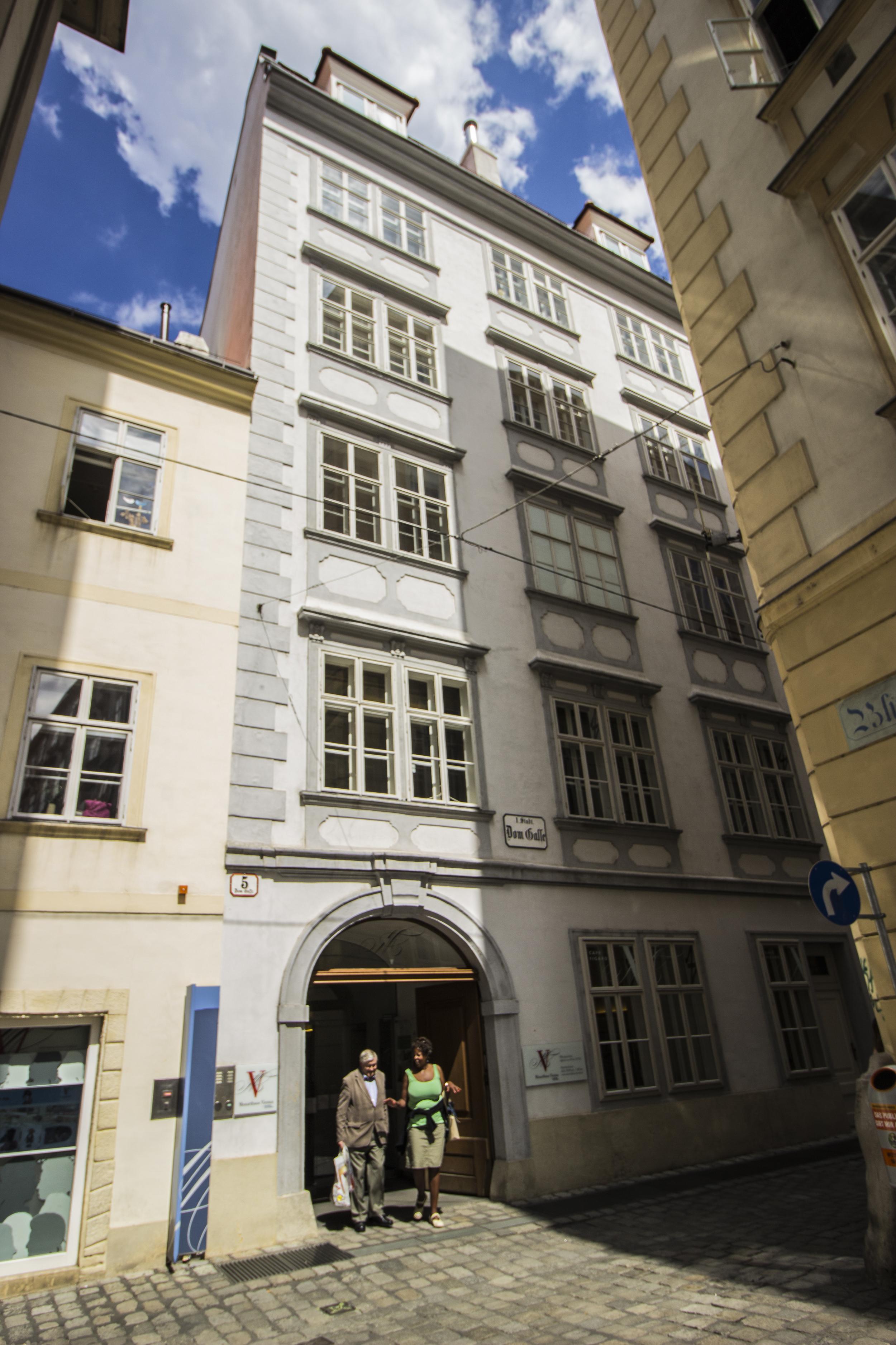 Mozart's house!