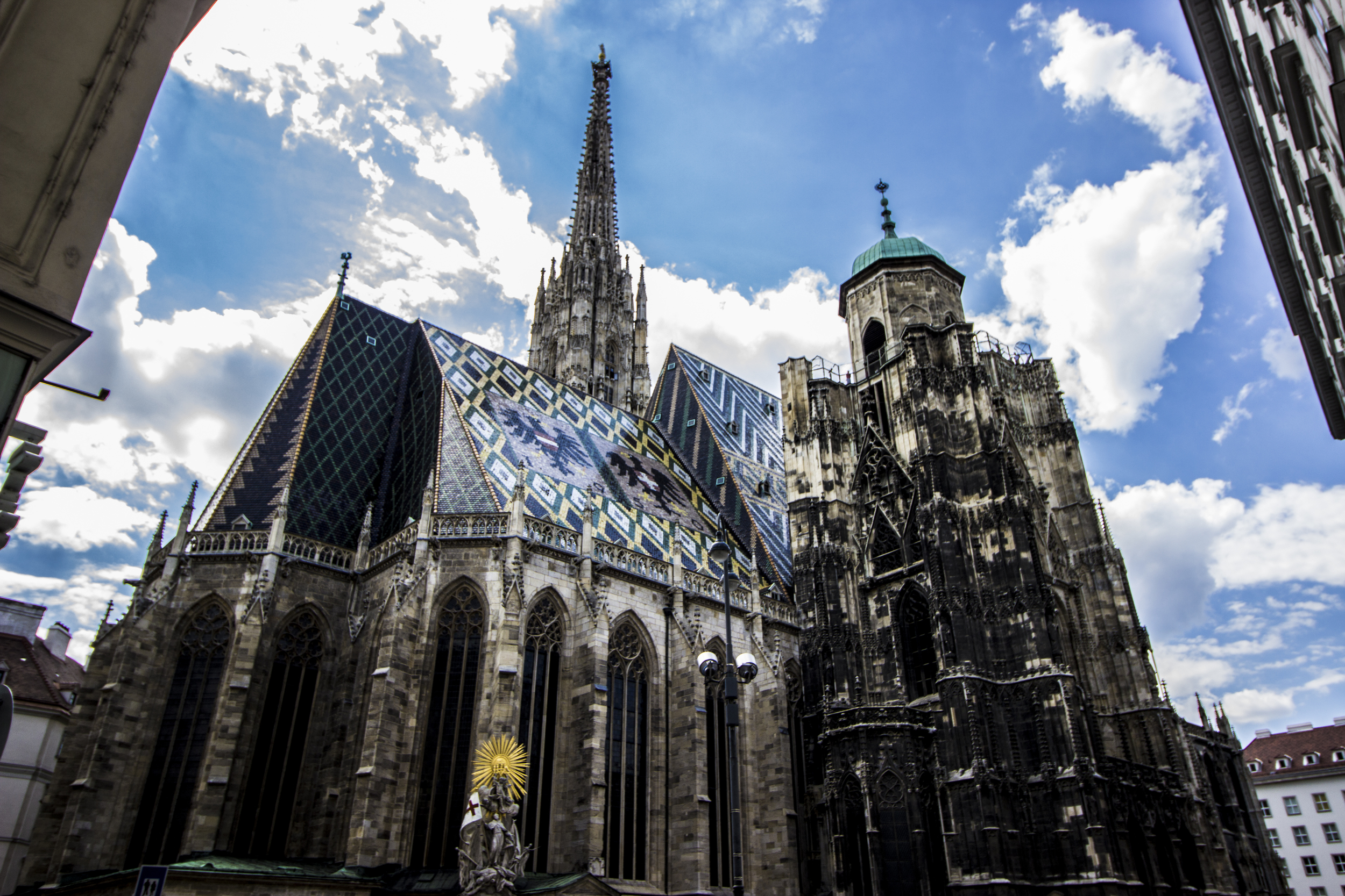 Eastern side of Stephansdom.