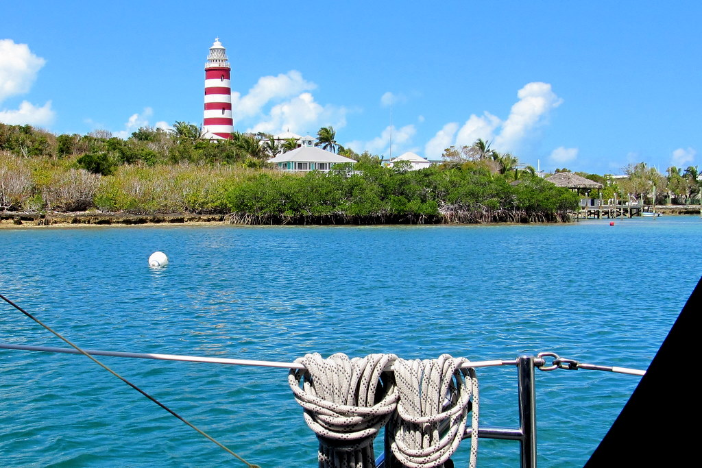 // Elbow Cay →<p>Hope Town Harbour has something for everyone - shops, museums, excellent restaurants, galleries, bakeries, and more. Better yet, it's pedestrians only!</p>