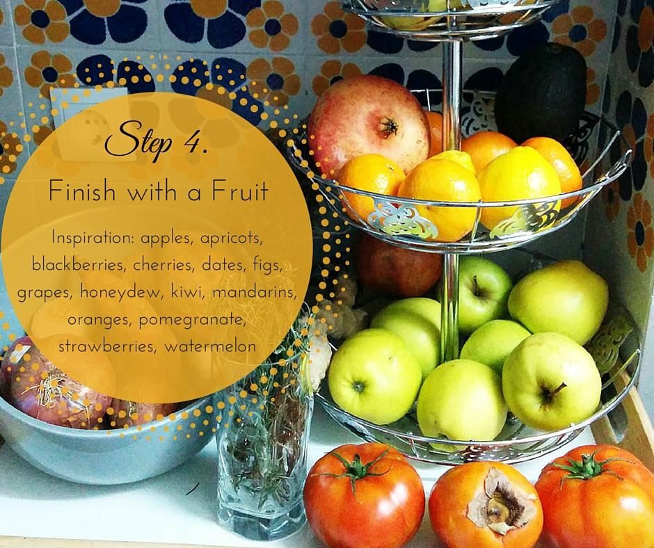 Our fruit rack in Barcelona!