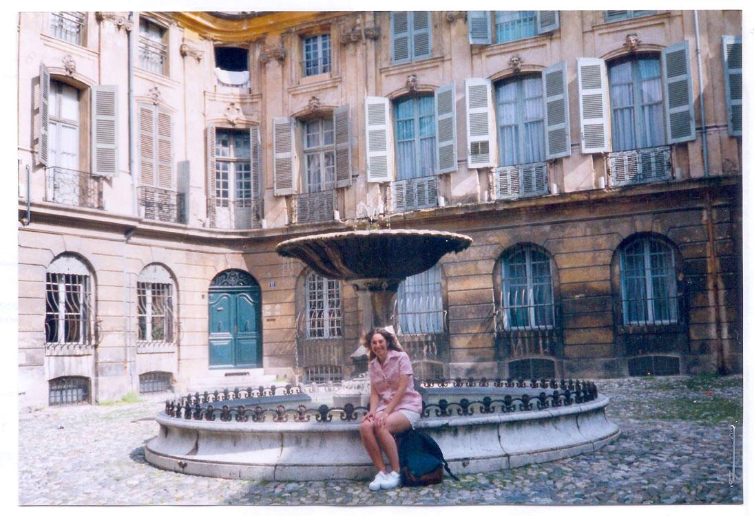 Aix en Provence, France, in 1996.