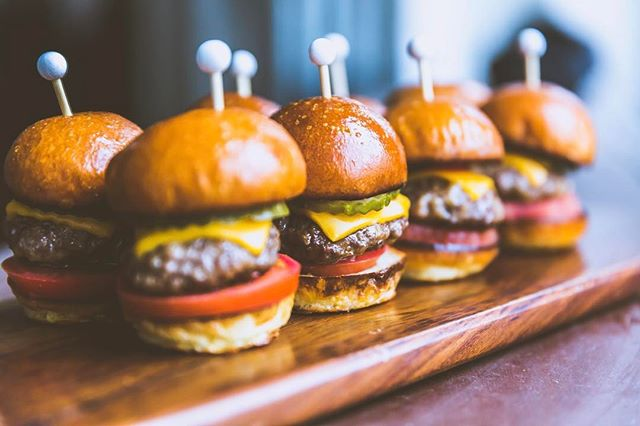 Is it really ever too early for sliders?! Daydreaming of these delectable minis! Not only do we host events, we are spoiled to be headquarters for @qcateringusa #sliders #catering #burgers #losangeles #lavenue #events #weddings #concerts #downtownla #dtla #foodie #qcateringusa #hungryallthetime