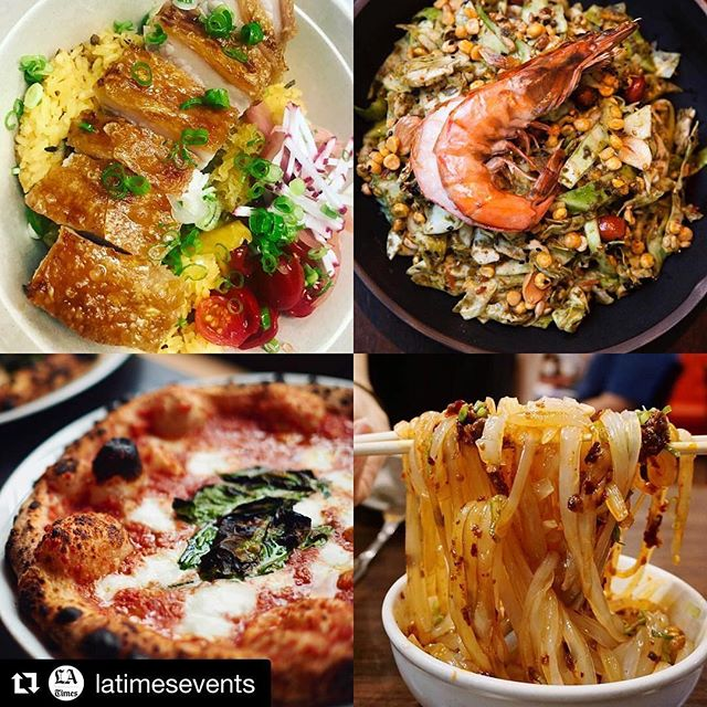 It's not too late to get your tickets and join us for this delectable night. What better way to end a Monday! #Repost @latimesevents #themacarthurla #foodie #events ・・・ Small plate delicacies from some of our local favorites @ricebarla @lukshonla @bestiadtla @chengdutaste and tons more at this year's #GoldList. Eat your hearts desires Monday evening October 23 as we celebrate best in the culinary world @the_thejgold 🍜🍝🍕🍾🍹@themacarthurla (tickets in bio)