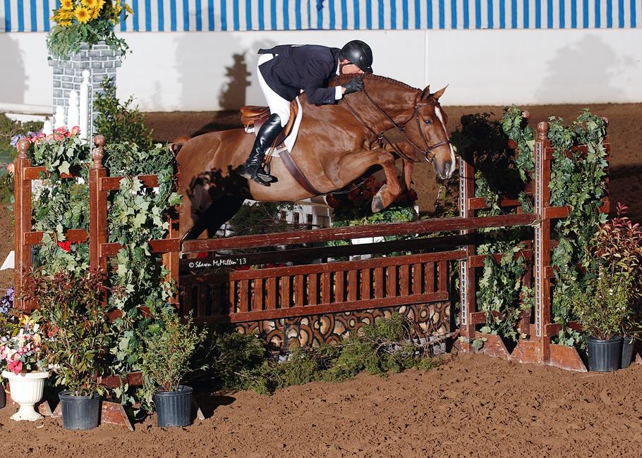 Amadeo & Bob Brawley -- Pin Oak Charity Horse Show (Katy, TX).jpg