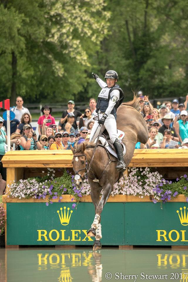 Matt Brown and Cecily Clark - East West Training Stables: 2017 Rolex Kentucky 3-Day Eventing 6th Place Finisher, 2016 Olympic Team USA Eventing Reserve Rider (Matt Brown). PC: Sherry Stewart