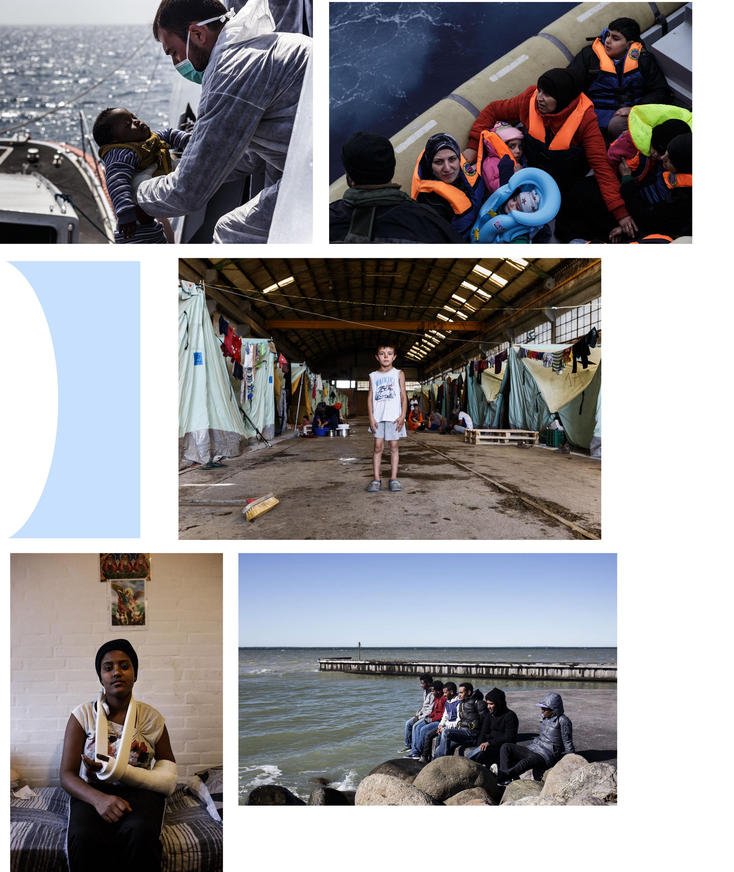 Cosa succede al di là del nostro mare - Il seminario affronta la tematica dei flussi migratori, di cui Romina Vinci si occupa con continuità da tre anni. Nell'Aprile 2014 si imbarca in una nave della Marina Militare pattugliando in lungo e in largo il Mediterraneo per due settimane, e documenta il salvataggio di migliaia di vite umane con l'operazione Mare Nostrum. Qualche mese dopo raggiunge la Turchia, e visita i campi profughi al confine con la Siria sorti nella città di Kilis. Segue poi un periodo in Nord Europa, Danimarca e Svezia, dove Romina dapprima vive in un centro per richiedenti asilo in un paesino nel Nord dello Jutland, e poi, a Gotemborg, raccontando la difficile realtà di un quartiere abitato soltanto da seconde generazioni di migranti. Nel Settembre 2015 racconta la realtà del centro Baobab a Roma, dove transitano profughi provenienti soprattutto dall'Eritrea e diretti al Nord. Nel 2016 va alla ricerca dei muri d'Europa, raggiunge dapprima la giungla di Calais (Francia), poi è la volta della Grecia, a Salonicco, per toccare con mano gli effetti della chiusura della rotta balcanica.durata incontro: 1 ora e 20 minuti circa.