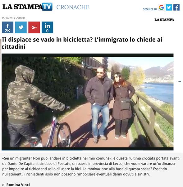 La Stampa - December 2017