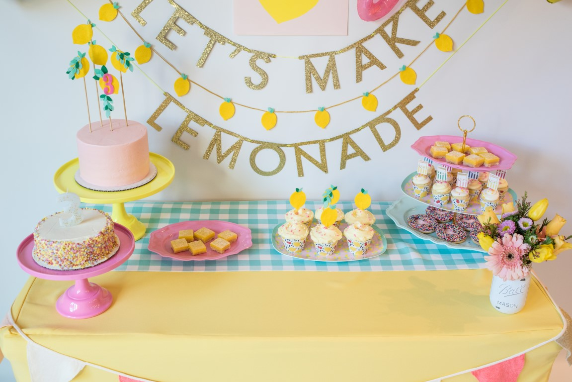 Lemon Party Decor And Supplies