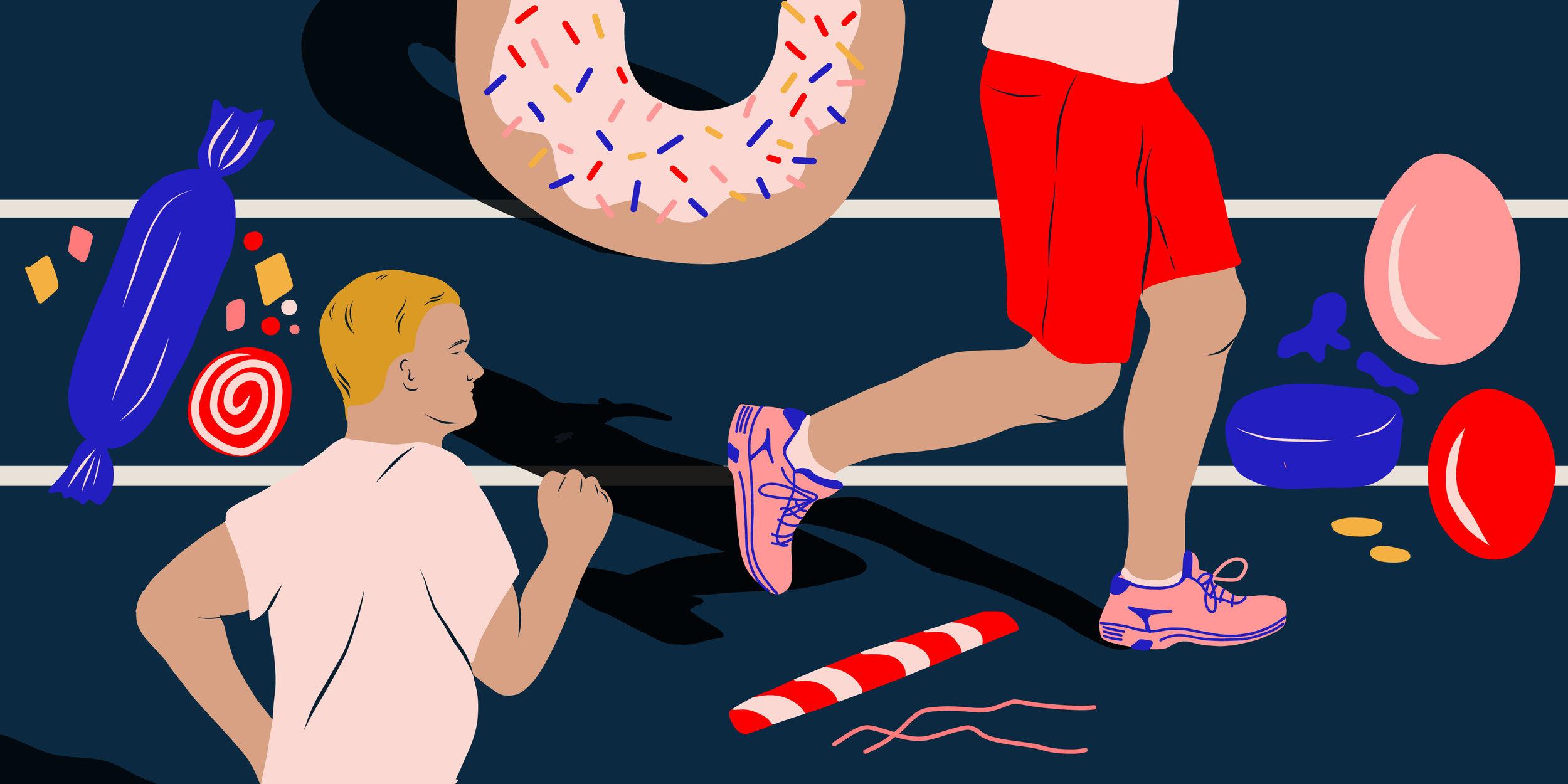 Sugar Run by Brian Oliu