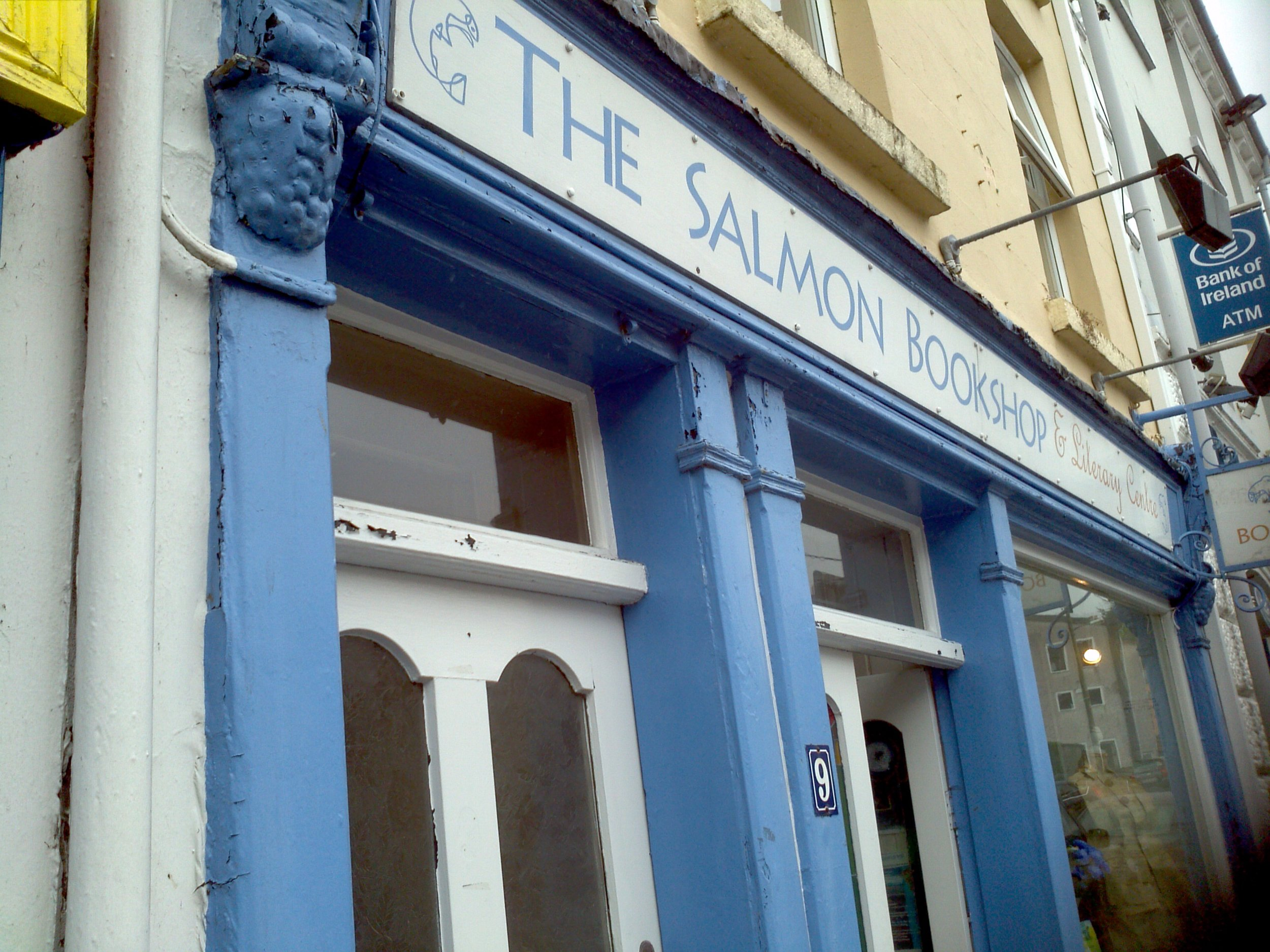 An exterior view of the Salmon Bookshop
