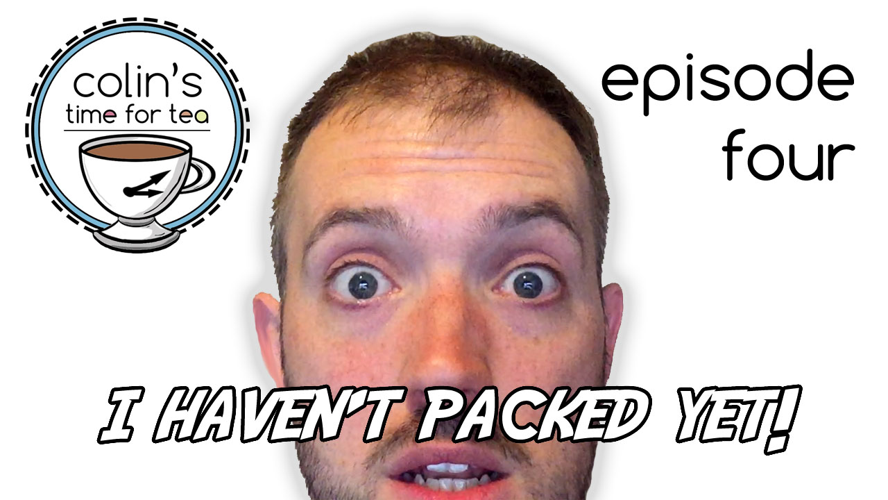 Episode Four - I haven't packed yet. Watch me pack, with clips of the Foodies Festival and my LIVE baking demonstrations.