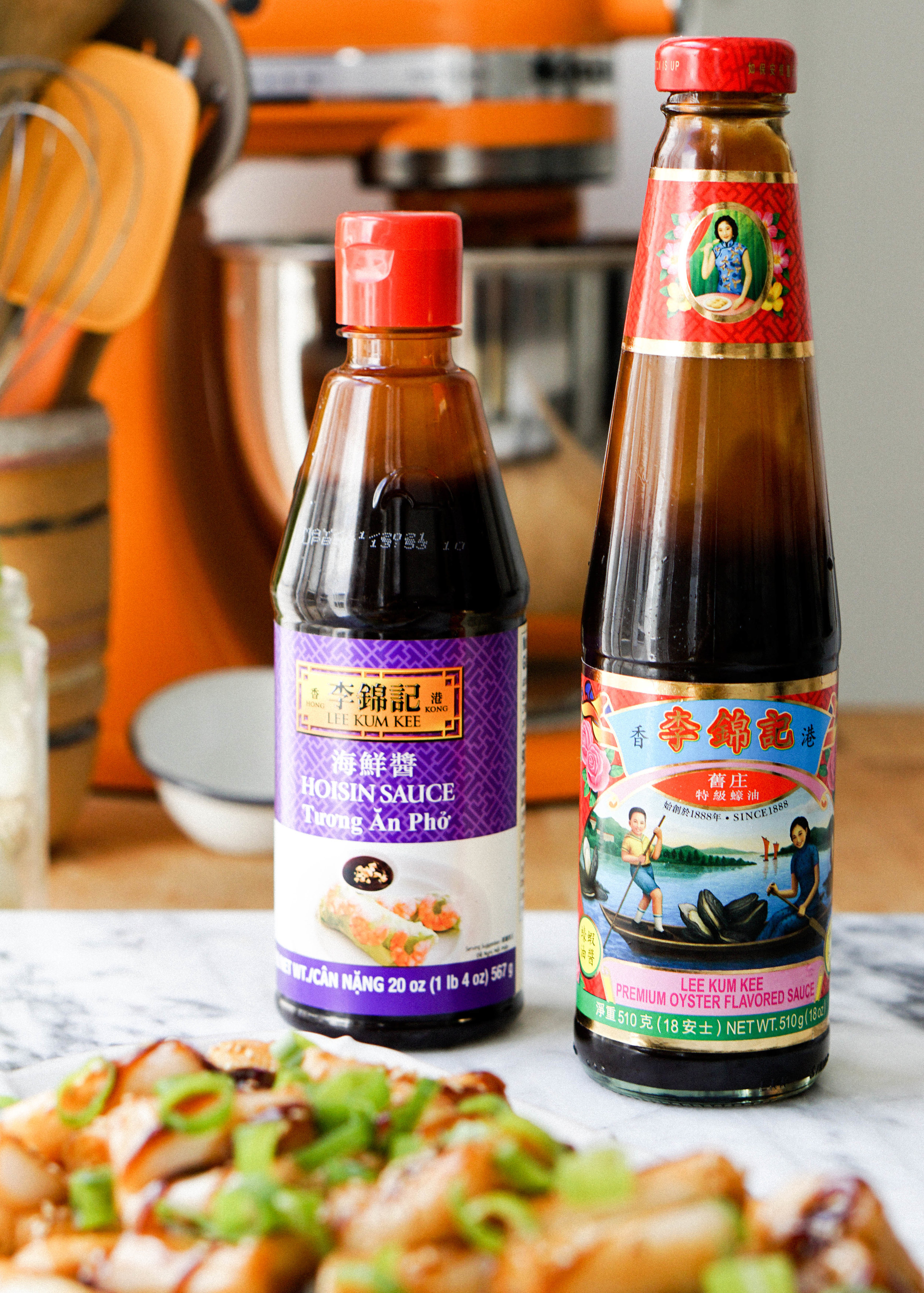 Pan Seared Cheung Fun Noodle Rolls