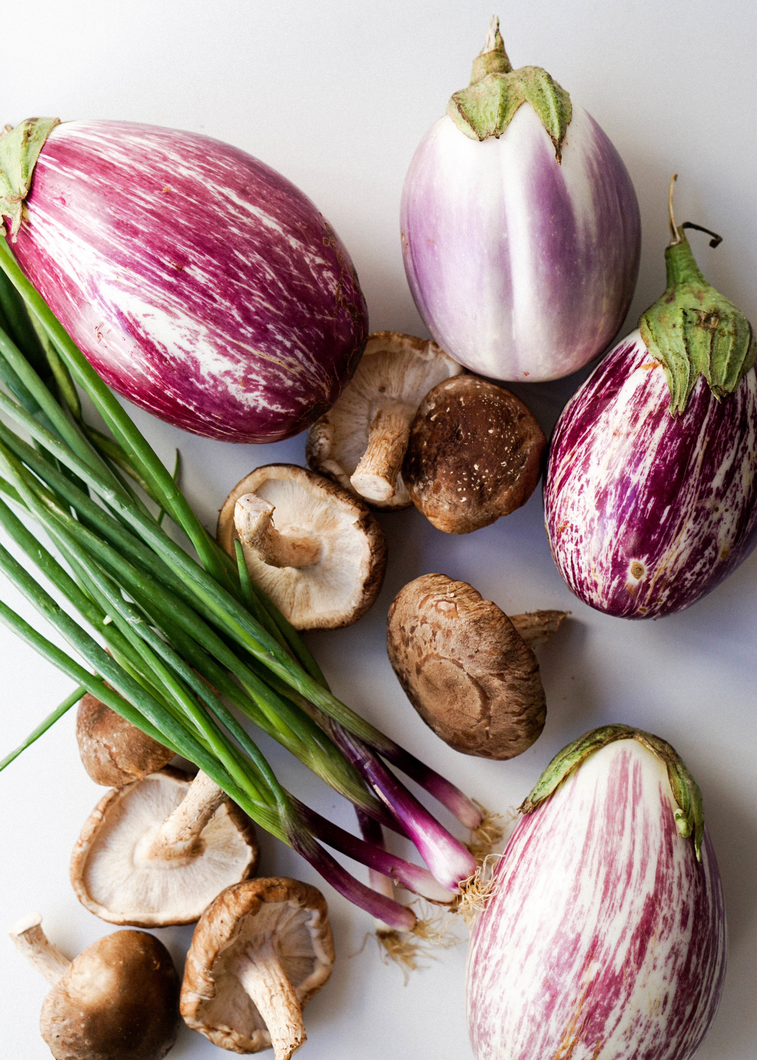 Sticky Rice Stuffed Eggplant
