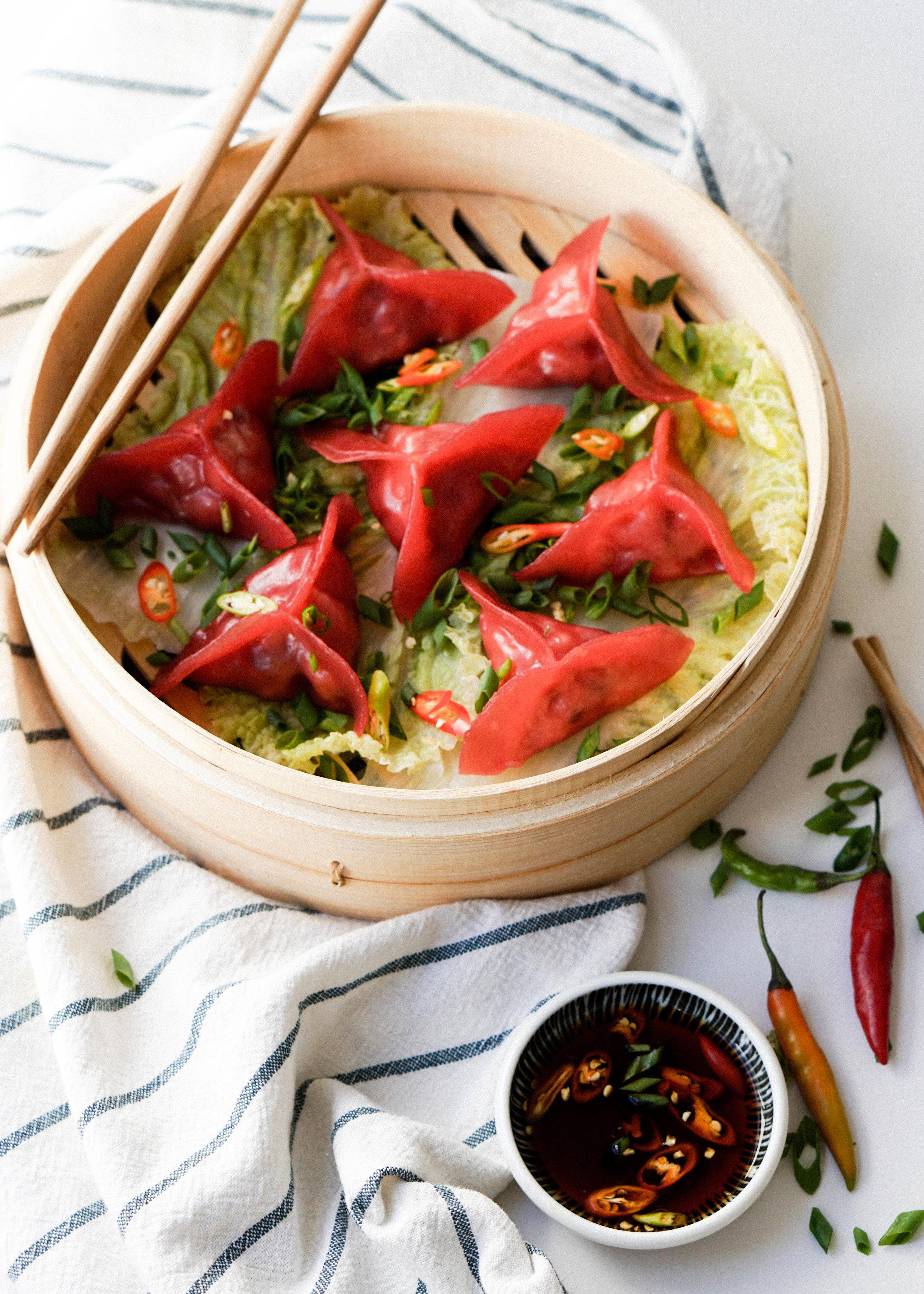 Spicy Fish Dumplings